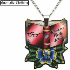 jubly umph Readers Gotta Read Pendant Necklace