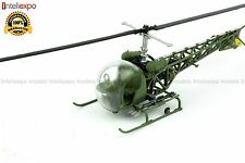 Bell OH-13H Sioux 1965 1/72 Military Helicopter USA Army Model Vietnam War No 31