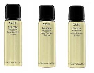 Oribe Cote d'Azur Hair Refresher 2 oz (3 pack )