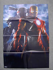 Iron Man 2 Double Sided Poster, Mickey Rourke, Robert Downey Jr (80 x 56 cm)