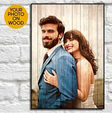 Personalised Gifts For Him Anniversary Gifts For Boyfriend Wood Picture Frame