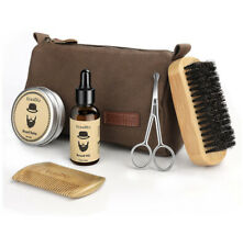 Beard Grooming & Trimming Kit - 6 Mustache Care Set for Men Care Ucradle