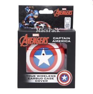 Marvel Captain America AirPods Protective Case Cover 1st & 2nd Generation