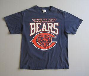 Vintage 90s Starter Chicago Bears Football crewneck t-Shirt Mens Large