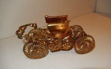 Vintage gold filigree CAR Novelty Cigarette Table Top Lighter Japan UNIQUE