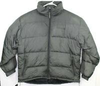 Vintage Ralph Lauren Polo Sport Goose Down Puffer Jacket Coat Mens Large Black