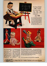 1966 PAPER AD 4 PG Ideal Live Lucy Doll Remco Snugglebun Bewitched Flintstones