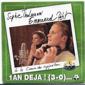 CD - Sophie Thalman & Emmanuel Petit - un an déja & Jamal K