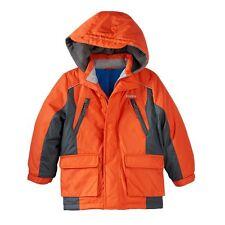Brand New Oshkosh B'Gosh Hooded Warm Jacket Coat Little Boys Size 4 Orange Nwt