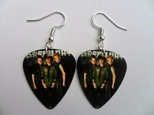 Green Day pendientes de guitarra pick // Plectro