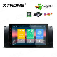 "Xtrons Android 9.0 Car Stereo Radio GPS 9"" For BMW 5 Series E39 525i X5 E53"