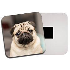 AD-P95FM Black Pug Dog Fridge Magnet Stocking Filler Christmas Gift