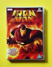 Marvel's Iron Man DVD (Jetix, 2008) 9 eps of the 1998 series plus 2 from 1966!