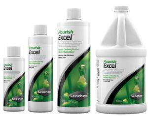 Seachem FLOURISH EXCEL Organic Carbon Aquatic Plants 100ml 250ml 500ml 2L CO2