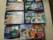 vintage micro machines galoob lot Star Wars Hoth Endor Death Star Stap Invasion
