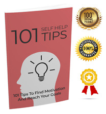 101 Self Help Tips - eBook pdf -With Resell Rights -Free Shipping-Delivery 12hr