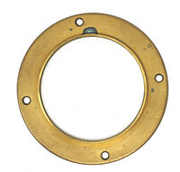 Brass Lens Flange 19th Century For Dag & Wet Plate Lenses 72mm