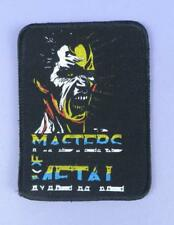 Masters of Metal Vintage Unused Sew On Cloth Patch