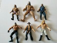 "Vintage1990s 6"" Wrestling Action Figures lot of 6"