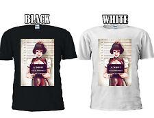 Disney Princess SnowWhite Mugshot Bad T-shirt Vest Tank Top Men Women Unisex 438