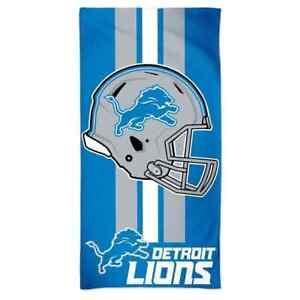 NFL Bath Towel Detroit Lions Towel Beach Towel Helmet 150x75 099606187444