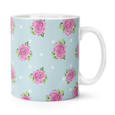 a rose rosa fantasia a pois 284ml Tazza - Fiori