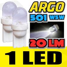 2X LED blanche PHARES / FEUX 12V 501 latéral clignotant Ampoules CITROEN NEMO