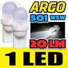 501 LED XENON WHITE BULBS BMW 3 SERIES E21 E30 E36 E46