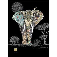 Bug Art Greeting Card - DECO ELEPHANT - BA-M129