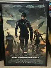 N326 Captain America 2 The Winter Soldier Superheroes Movie Poster Silk Art