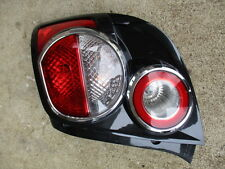 RIGHT RH PASS SIDE TAIL LIGHT HATCHBACK 12-15 CHEVROLET SONIC OEM COMPLETE USED