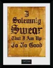Harry Potter GIURO solennemente-montato & stampa incorniciata