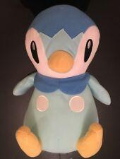 "Nintendo Pokemon 15"" Piplup Plush Blue White Penguin Toy Factory Large"