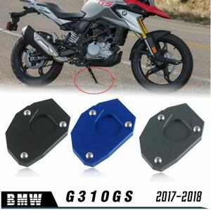 Side stand support stand plate extension for bmw g310gs 2017-2018