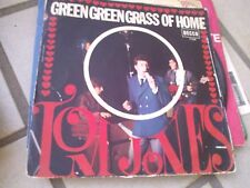 "7""  TOM JONES GREEN GREEN GRASS OF HOME IF IHAD YOU ITALY 1967 EX+/VG/VG+"