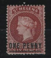 G129970/ ST HELENA / BRITISH COLONY / SG # 8 MINT MH – CV 180 $