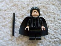 LEGO Harry Potter Minifig - Rare Professor Snape - From 4842 (w/ torso crack)