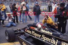 Mario Andretti JPS Lotus 79 Canadian Grand Prix 1978 Photograph 2
