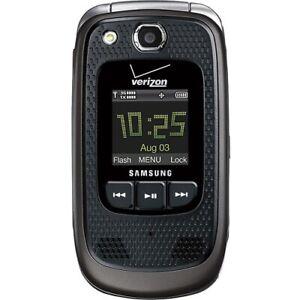 Samsung Convoy 2 - SCH-U660 - Black (Verizon) 3G Basic Flip Camera Cell Phone