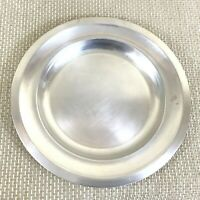 """Art Deco Christofle Serving Tray Round French Service Platter Silver Plated 11"""""""