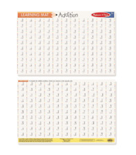Melissa & Doug Learning Mat Placemat - Addition Problems