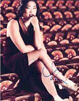 Jenna Ushkowitz Signed Autographed 8x10 Photo Glee Actress VD