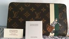 New Louis Vuitton Monogram Groom Zippy Wallet w/ Bellboy Logo