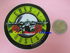 ADESIVO STICKER GUNS N ROSES 8X8 CM (***) no cd dvd lp mc vhs promo live