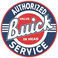 Buick Authorized Service Classic VIntage sticker decal NHRA Rat Rod Street Rod