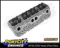 Aeroflow Complete Alloy Cylinder Heads 64cc Chevrolet V8 S/Block AF95-2350