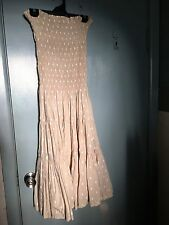 Gorman dress in pale brown with white beetles in size 8