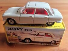 FRENCH DINKY 510 PEUGEOT 204 ORIGINAL AND BOXED NOT ATLAS