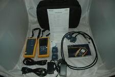 Fluke DTX-1800 Netzwerktester Cat 7 900MHZ Cable Analyzer  kalibriert f. 5 Jahre