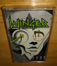 Winger self titled 1989 CASSETTE ***PLAY TESTED*** Seventeen, ACCEPTABLE / GOOD